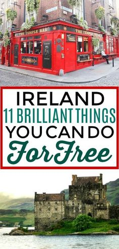 11 Brilliant Things in Ireland You Can Do for Free - Random Travel Info - I'm so excited to plan out out my trip to Ireland and these Ireland travel tips are perfect! I'll definitely be remembering these places to visit in Ireland. Travel Ireland Tips, Ireland Vacation, Traveling To Ireland, Backpacking Ireland, Scotland Vacation, Vacation List, Travelling Europe, Scotland Trip, Italy Vacation