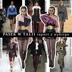 Pasek w talii - idealny do podkreślenia sylwetki i niezwykle modny w 2016/2017 Emmanuelle Alt, Moschino, Must Haves, Mcqueen, Burberry, Street Style, Home, Urban Style, Street Style Fashion
