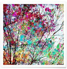 Autumn 8 als Premium Poster von Mareike Böhmer | JUNIQE