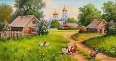 Деревенская идилия, автор Mihallna. Артклуб Gallerix