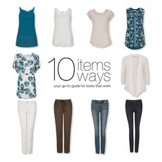 10 Items 10 Ways Summer Getaway #rickis #10items10ways #capsulewardrobe