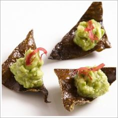 Chef's Recipes | chef Wolfgang Puck's recipe for Edamame Guacamole for the The 85th Academy Awards.
