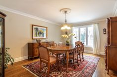 Humber Valley Family Home Dining Room
