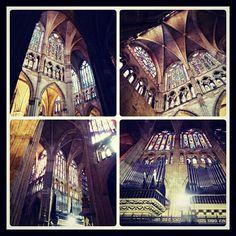 La ciudad de #Leon (#España) esconde templos maravillosos. http://www.europeosviajeros.com