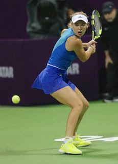 Blog Esportivo do Suíço:  Wozniacki e Pliskova passam por rodadas duplas no WTA do Qatar