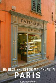 The Best Spots For Macarons in Paris Pinterest: @theculturetrip