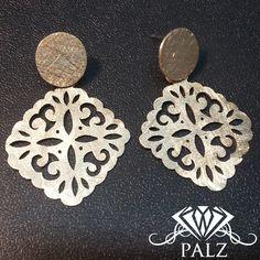 Silver handmade earrings