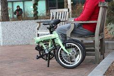 Shimano Nexus Hub and Gates Belt drive 16 wheel folding bike