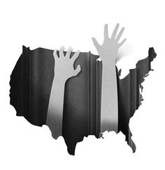 """Eiko Ojala: New York Times """"Help for Those Lost in America"""". Editorial illustrations on Behance"""