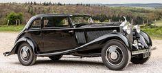 1934 Rolls-Royce 20/25hp Coupe, coachwork by Park Ward