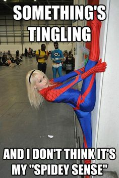 Spider-Girl (looks like Gwen Stacy is wearing a Spider-Man suit) Gwen Stacy, Spider Girl, Spider Women, Marvel Dc, Marvel Comics, Marvel Women, Cosplay Marvel, Spiderman Cosplay, Spiderman Spiderman