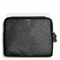The iPad Sleeve in Glitter from Coach