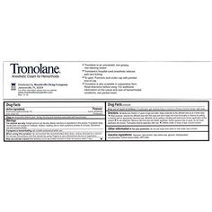 LEE PHARMACEUTICAL Tronolane Hemorrhoid Cream Size 1 Ounce * Check this awesome product by going to the link at the image.