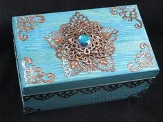 http://tiny.cc/SB-PreOrder -- Gorgeous box by Designer Sherry using the new die sets Moroccan Motifs and Moroccan Accents! See how she did this at http://tiny.cc/SB7-Sherry