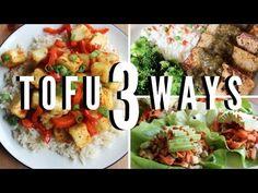 3 Awesome Tofu Recipes (Easy & Vegan) - Jerk tofu