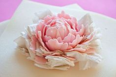 How to make a gum paste peony (part 2) | CakeJournal | How to make beautiful cakes, sweet cupcakes and delicious cookies