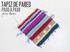 Petite Blasa - #elretopinteretest septiembre DIY Telar - Weawing