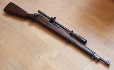 M1903 Springfield .30-06/bolt action sniper rifle