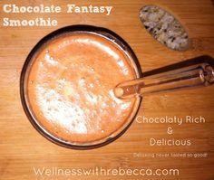 #Spring Detox  #Chocolate  #Wellnesswithrebecca  #Smoothie   #Shake
