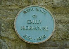 """EMILY HOBHOUSE (1860-1926) 