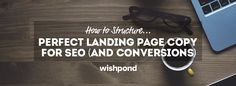 Let's define what a landing page is first. A landing page is a specific page that pops up once a searcher clicks through an ad in the search, on Facebook or on Twitter. It is a page with a...
