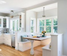 This Rhode Island home is brimming with charm! Built by Meridian Custom Homes in collaboration with Red House Design