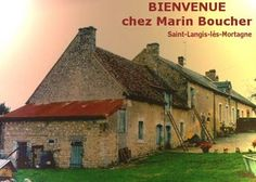 Ancestral home of Marin Boucher,  built during 1500's in France.     This farm is called LaBarre.    It was a wedding gift from first wife's parents.