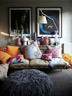bohemian chill out room