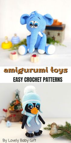 Crochet For Boys, Cute Crochet, Crochet Patterns Amigurumi, Knitting Patterns, Easy Amigurumi Pattern, Amigurumi Toys, Crochet Gifts, Crochet Animals, Craft Patterns