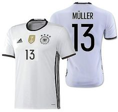ADIDAS GERMANY EURO 2016 THOMAS MULLER AUTHENTIC PLAYERS HOME ADIZERO JERSEY 2683c25e7