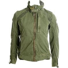 army surplus military jacket