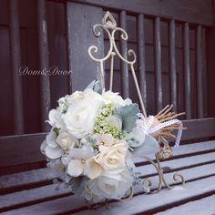 Vintage Romantic Flower Bouquet