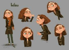 Lovely character sheet by Erwin Madrid .