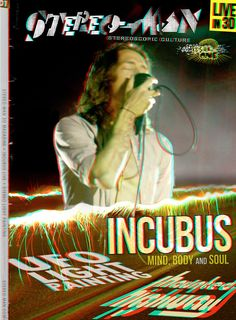 3D Magazine Cover by Coldie | Incubus in 3D #incubus #3d