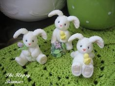 The Flopsy Bunnies  Absolutely adorable and so by dollsandbunnies