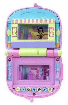 Pixel Chix Love 2 Shop Mall: Salon & Pet Shop by Mattel. $19.99. Virtual mall has a flip screen that allows your Pixel Chix gal to move between the shops. The more your Pixel Chix gal works, the more she has to spend in the mall. Mini-mall closes up into a stylish handbag-shaped case. 7 different input buttons allow for many interactions. Requires 4  AAA  batteries (included). Now your Pixel Chix gal can shop and hang out at the Pixel Love 2 Shop Mall, an interactive...