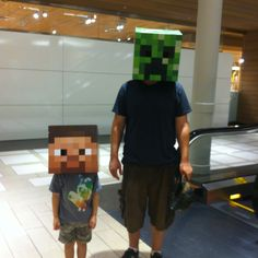Minecraft-We have these for Halloween!