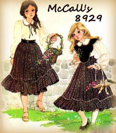 Sewing Pattern Vintage 1980s McCall's 8929 by mmmsvintagepatterns