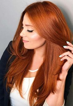 53 Fancy Ginger Hair Color Shades to Obsess over: Ginger Hai.- 53 Fancy Ginger Hair Color Shades to Obsess over: Ginger Hair Facts 53 Fancy Ginger Hair Color Shades to Obsess over: Ginger Hair Facts - Red Copper Hair Color, Hair Color Auburn, Ombre Hair Color, Cool Hair Color, Color Red, Copper Hair Dye, Copper Ombre, Reddish Hair Color, Short Copper Hair