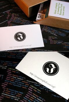 HTML Business Cards