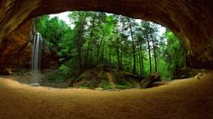 Old Man's Cave, Logan, Ohio