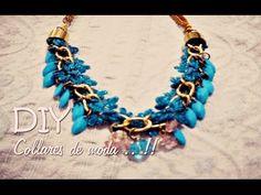 * DIY ♡ ... Collares de Moda !! - YouTube