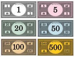 Where To Print Your Own Monopoly Money Monopoly Partymonopoly Themed Partiesmonopoly