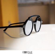 Essedue Sunglasses Handmade and Designed in Italy Circle Sunglasses, Handmade Design
