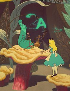 My favorite Disney movie - and my favorite Disney characters!  Alice in Wonderland |