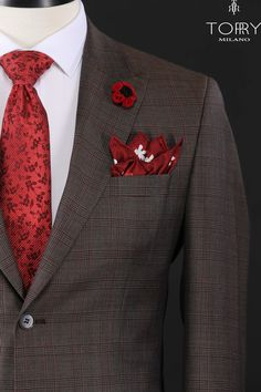 Our suits are part of the premium category, being dedicated to both a daily outfit and ceremonies. They are made of high quality materials and can be worn in any season with the same ease. The elegance and refinement of our costumes will imprint your mood, improving it. #dapper #mensfashion #style #fashion #menstyle #menswear #mensstyle #ootd #gentleman #menwithstyle #fashionblogger #menwithclass #menfashion #lifestyle #classy #instagood #mensfashionpost #like #outfitoftheday #streetstyle Style Fashion, Mens Fashion, Plaid Suit, Formal Suits, Daily Outfit, Mens Suits, Dapper, Outfit Of The Day, Gentleman
