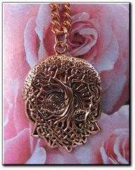 Copper Celtic Tree of Life Pendant  #CCM514
