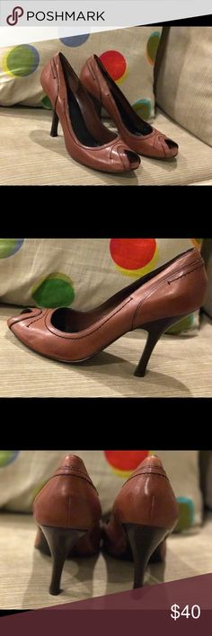 Next brand brown high heels Next brand brown high heels, gently used, fantastic condition. Size 11. Quality construction, built to last. Next Shoes