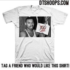 Check out our Wilt 100 Tee!! This and much more basketball and NBA apparel only at dtshoops.com