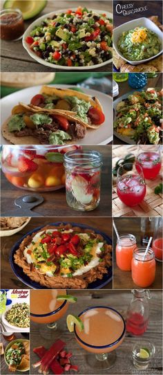 Cinco de Mayo Recipes!! Everything you'll need for an epic fiesta!
